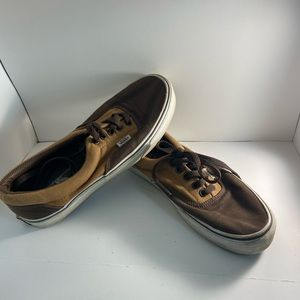 Brown two time Vans Shoes